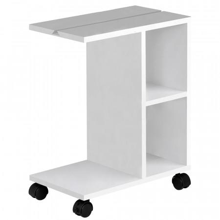 NIDEN - kisasztal, fehér