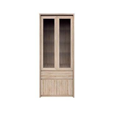NORTY vitrin sonoma tölgy színben 88 cm