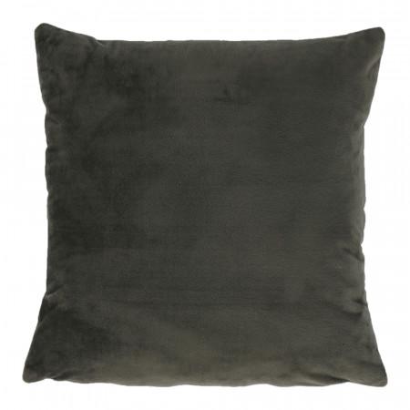 ALITA TYP 11 - Párna, bársony anyag sötétzöld, 45x45