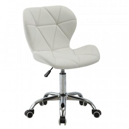ARGUS - Irodai fotel, fehér/króm