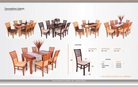 Kármen étkező Pianó asztallal (6 személyes)