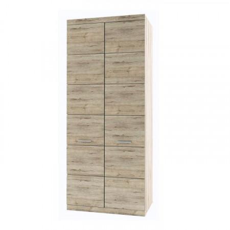 ORESTES - Akasztós szekrény, tölgy san remo