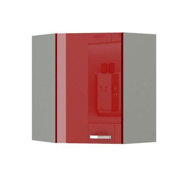 PRADO 60/60 N G-72 felső szekrény extra magas fényű piros színben