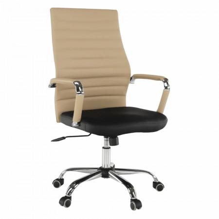 DRUGI TYP 1 - Irodai szék, bézs/fekete