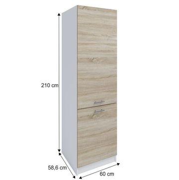 FABIANA S-60/210 szekrény sonoma tölgy színben