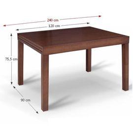 Faro asztal - wenge