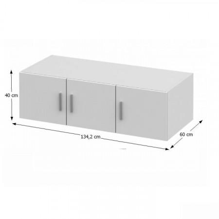 INVITA TYP 7 - Felső szekrény DTD laminált, sonoma tölgy