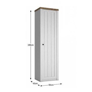 PROVANCE szekrény Andersen erdei fenyő - lefkas tölgy színben 1 ajtós