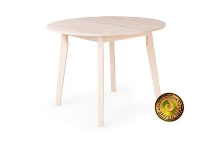 ANITA asztal (kör, átmérő: 100cm) - sonoma