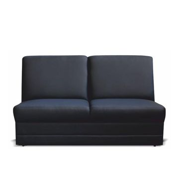 BITER 3 BB luxus ülőgarnitúra elem fekete textilbőrrel