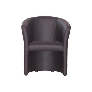 CUBA fotel fekete színben
