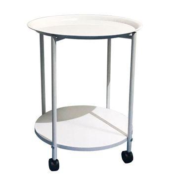 DERIN modern kerekes házi asztalka