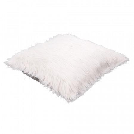 FOXA TYP 1 - Párna, fehér/ezüst, 45x45