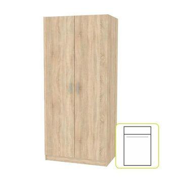 INVITA szekrény sonoma tölgy színben 2 ajtós