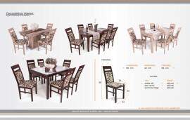 Léna étkező Dante asztallal (6 személyes)