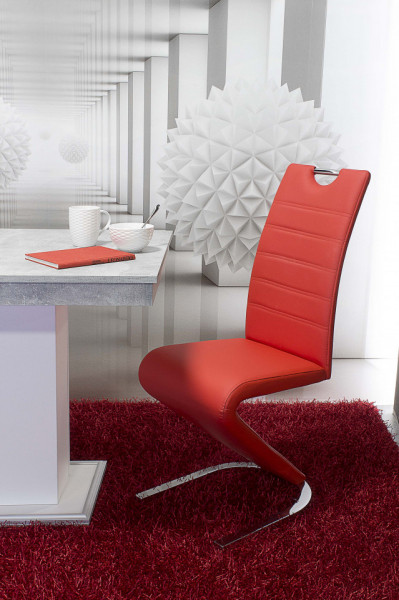 Lord étkező Flóra asztal + 4db Lord szék Piros