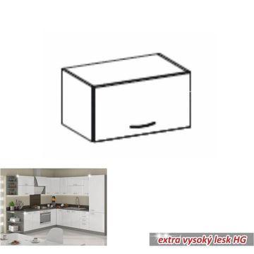 PRADO 60 OK-40 felső szekrény extra magas fényű fehér színben