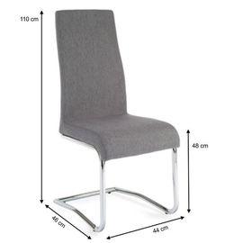 Amina szék - világosszürke