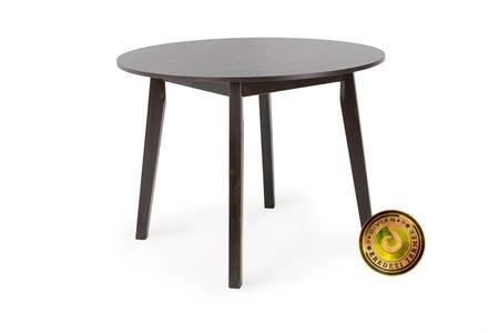 ANITA asztal (kör, átmérő: 100cm) - wenge
