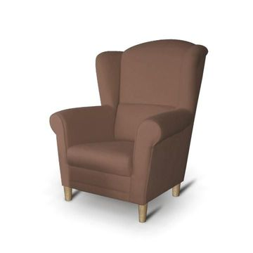 CHARLOT fotel barna színben