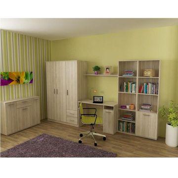 NOKO-SINGA 80 2 ajtós szekrény sonoma tölgy színben