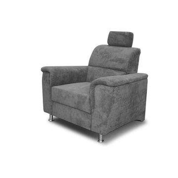 SANTIAGO fotel szürke színben
