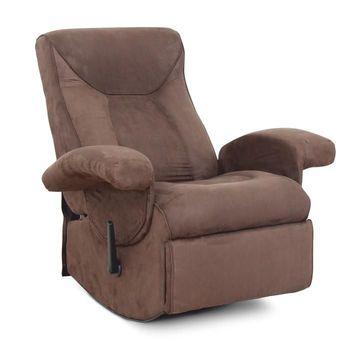 SUAREZ mechanikusan állítható pihenő fotel barna színben