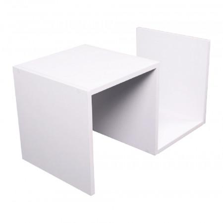 VALMAR - Kisasztal, fehér