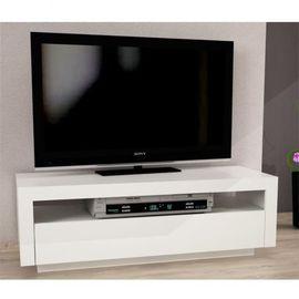 Agnes TV asztal - fehér