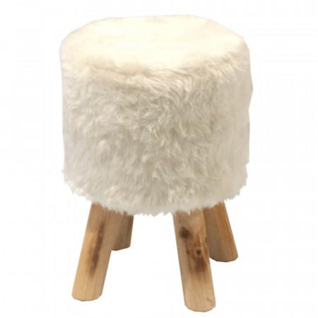 ALPIA - Ülőke, fehér/fenyő