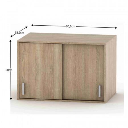 BETTY 4 BE04-004-00 - Kiegészítő tartozék a szekrényre, tölgyfa sonoma