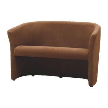 CUBA dupla fotel barna színben