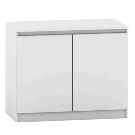 HANY NEW 008 - 2 ajtós komód, fehér