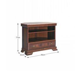KORA KRTN TV asztal - szekrény samoa king színben fíókos