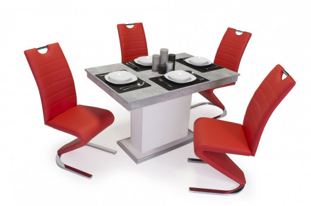Lord étkező Flóra asztal + 4db Lord szék