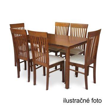 ASTRO 110 étkezőasztal dió színben