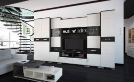 Basel szekrénysor LED 355 cm