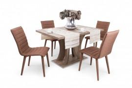 Bella étkezőasztal 130 x 85 + 40 cm