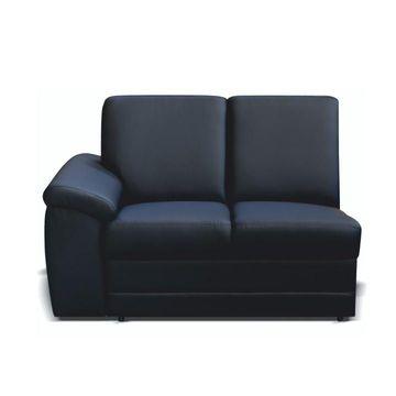 BITER 2 1B L 2-es ülés fekete textilbőrrel - balos állásban