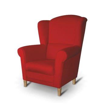 CHARLOT fotel piros színben