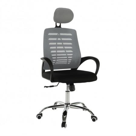 ELMAS - Irodai szék, szürke/fekete
