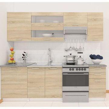 FABIANA alap konyha sonoma tölgy színben
