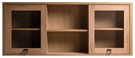 MR-7Ü vitrines falra szerelhető szekrény - Farmer elemes termékcsaládból