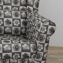 CHARLOT virágmintás fotel patchwork stílusban
