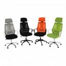 TAXIS - Irodai szék, szürke/fekete/fehér