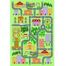 EBEL - Szőnyeg, színes, 100x150