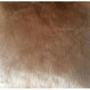 ROSALINE - Párna, báránybőr utánzat, bézs, 45x45