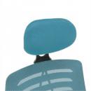 ELMAS - Irodai szék, kék/fekete