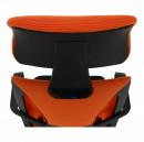 TAXIS - Irodai szék, fekete/narancssárga