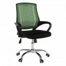 IMELA TYP 2 - Irodai szék, zöld/fekete/króm
